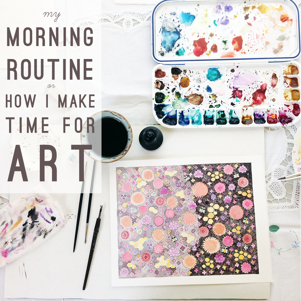 How to Make Time for Art from Yardia by Brigida Swanson | art, leadership and education