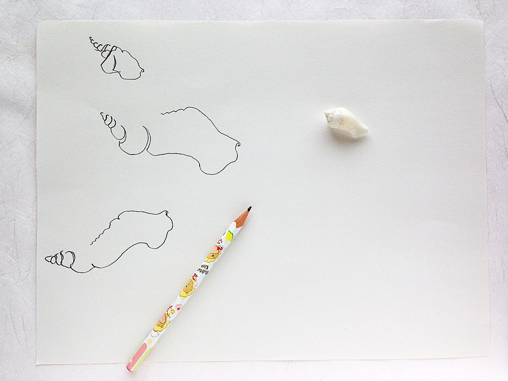 How to Draw an Ink Nature Study from Yardia by Brigida Swanson | art, leadership and education
