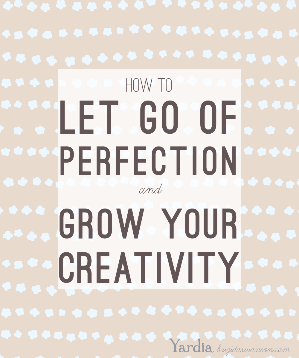 Learn how perfectionism is holding you back from taking risks and complete a simple exercise that will help you to embrace the messiness of creativity.