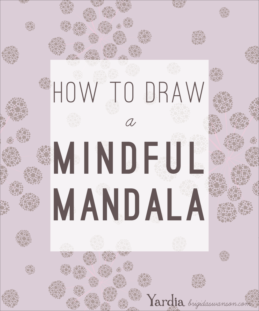 Learn how to use art-based meditation to quiet your mind in moments of stress, by drawing a mandala.