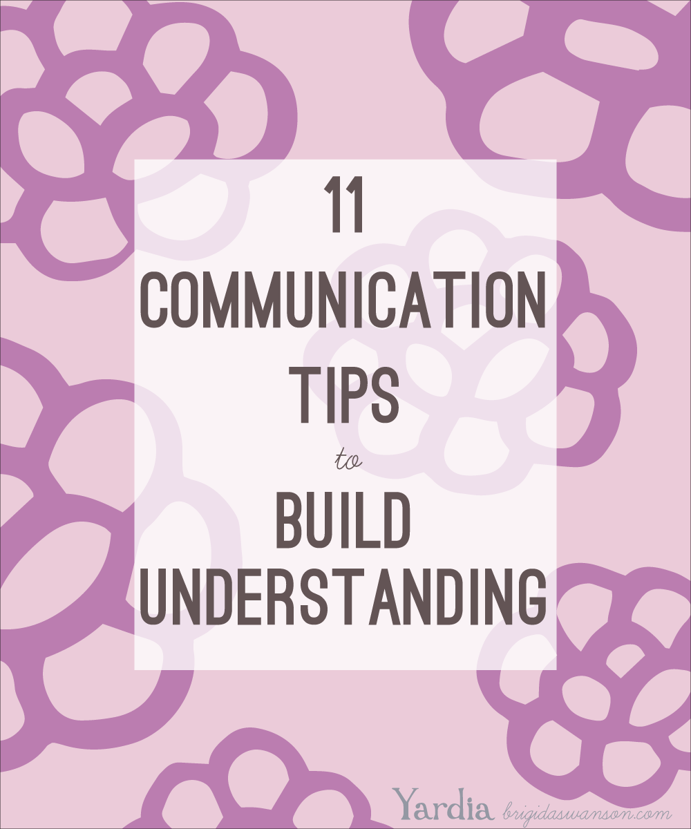 Learn 11 tips for clear communication, inspired by the students of a 5th grade class.