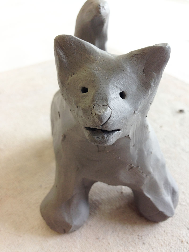 How to Sculpt a Clay Animal 6