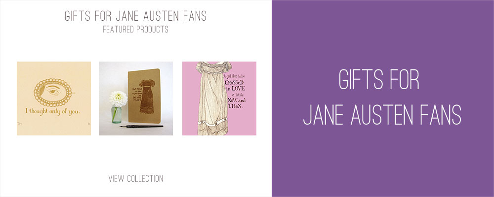Gifts for Jane Austen Fans