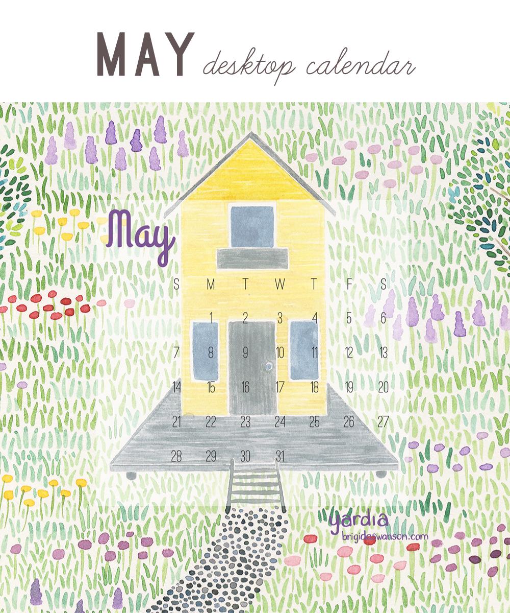 Yardia May 2017 calendar