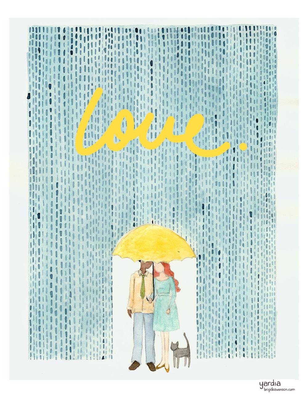 Yardia Rainy Day Love