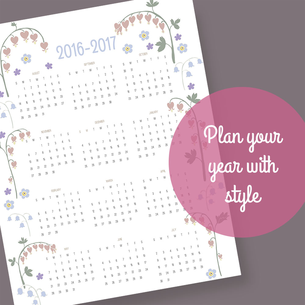 Yardia calendar
