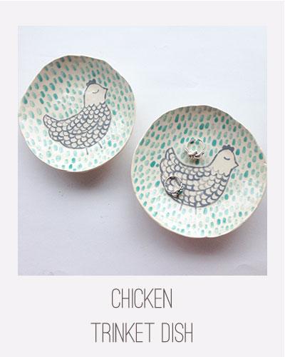 Yardia Chicken Trinket Dish