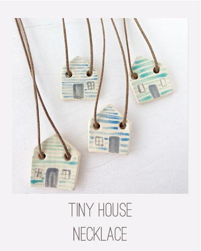 Yardia TIny House Necklace
