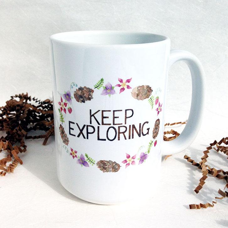 Yardia Exploring Mug
