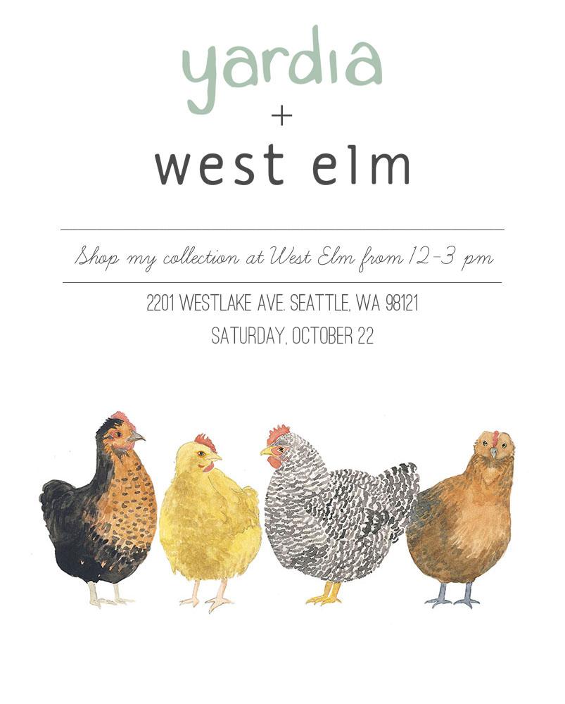 Yardia at West Elm