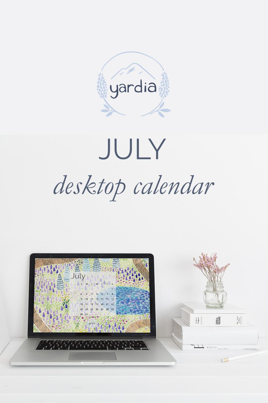 Yardia July 2017 calendar