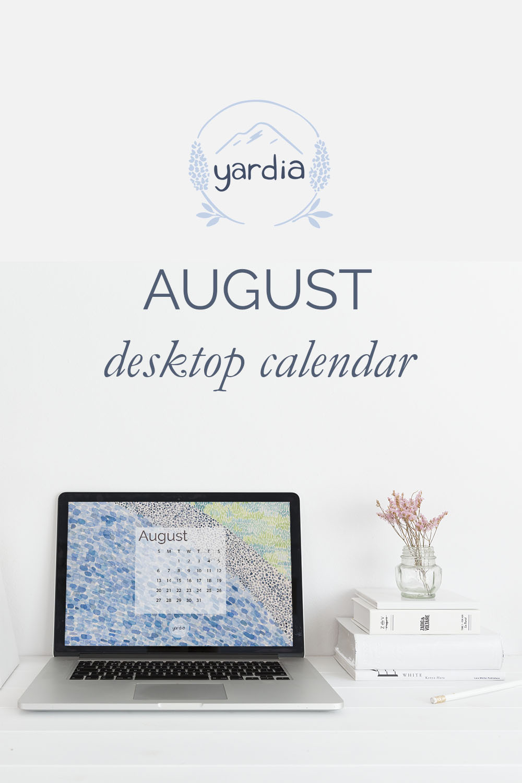 Yardia August 2017 calendar