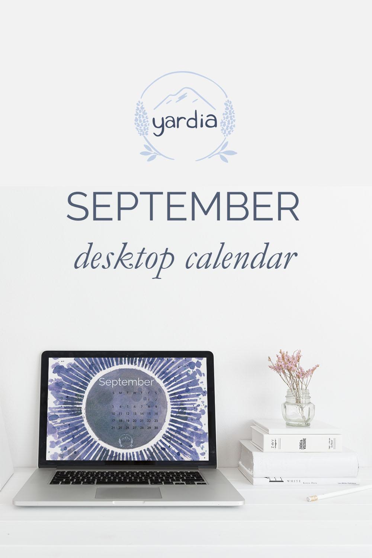 Yardia September 2017 Calendar
