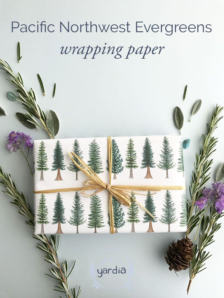 Yardia evergreen wrapping