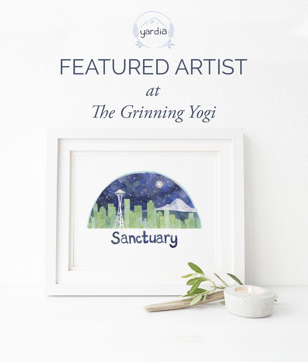 Yardia Grinning Yogi