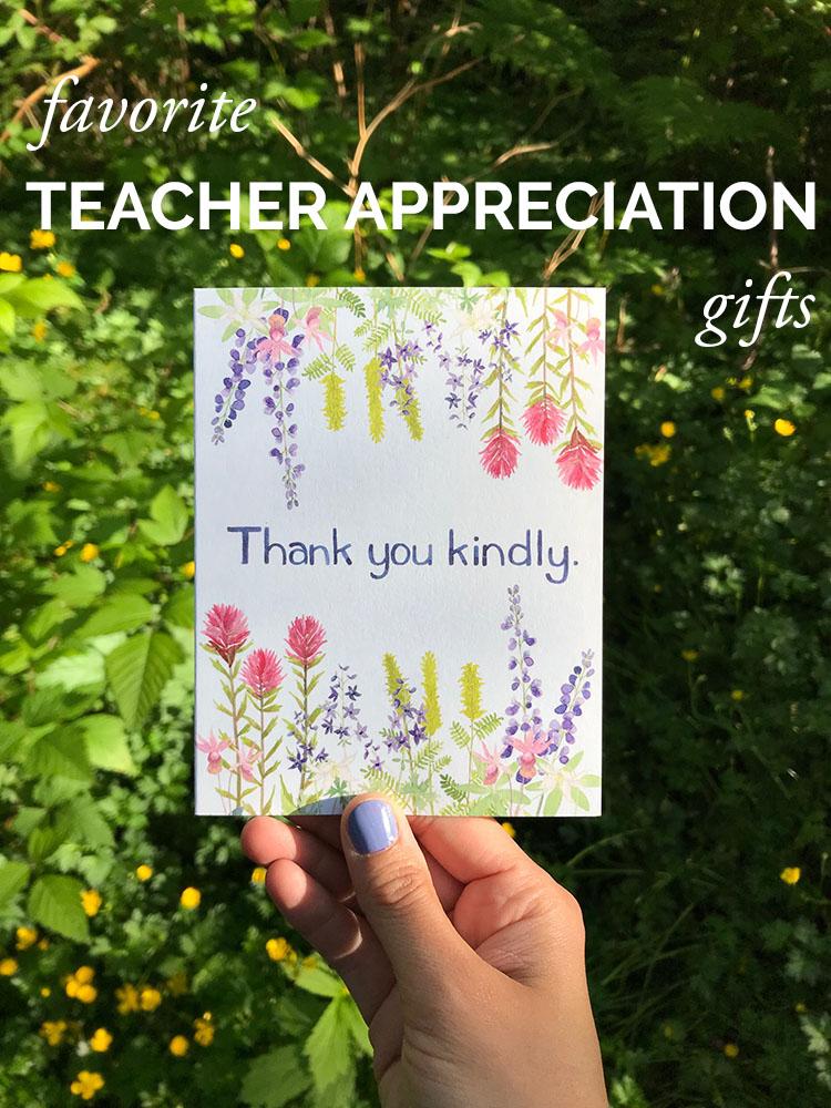 Favorite Teacher Gifts