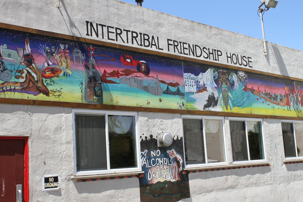 Location Shot: Intertribal Friendship House in Oakland