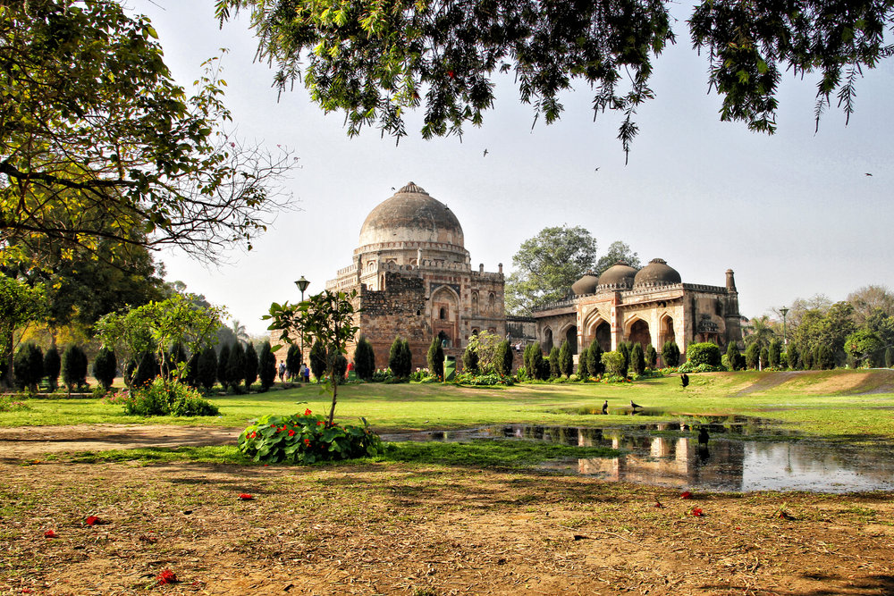 """Lodi Garden in Delhi"""