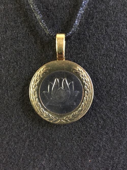 Iranbimetal Lotus Flower Pendant