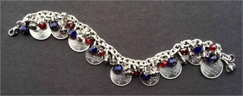 Andrea H Beaded Bracelet