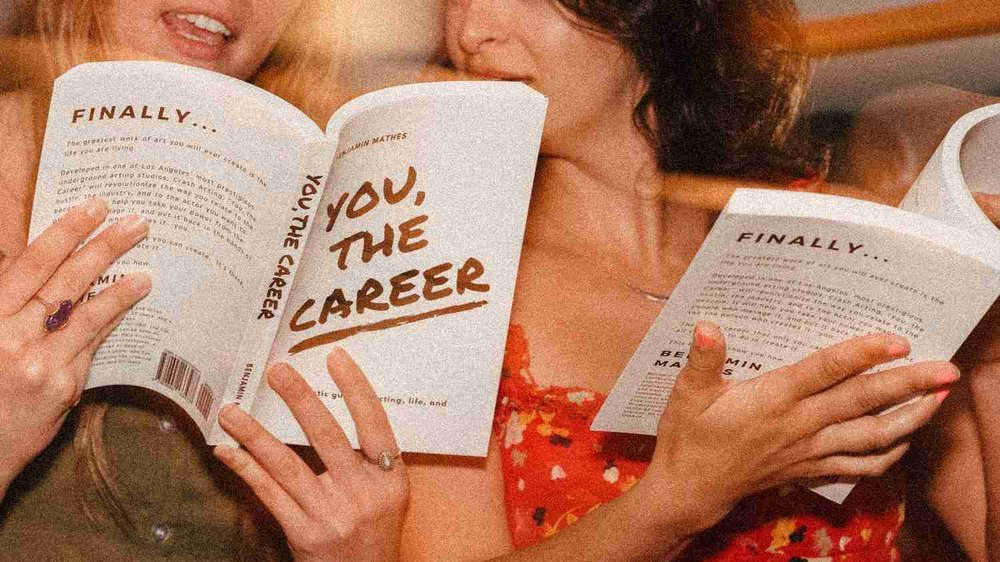 You, the Career // Book - The top-selling You, the Career: A Holistic Guide to Acting, Life, and the Biz is an accessible and direct guide to building the career you want without losing the person you are.