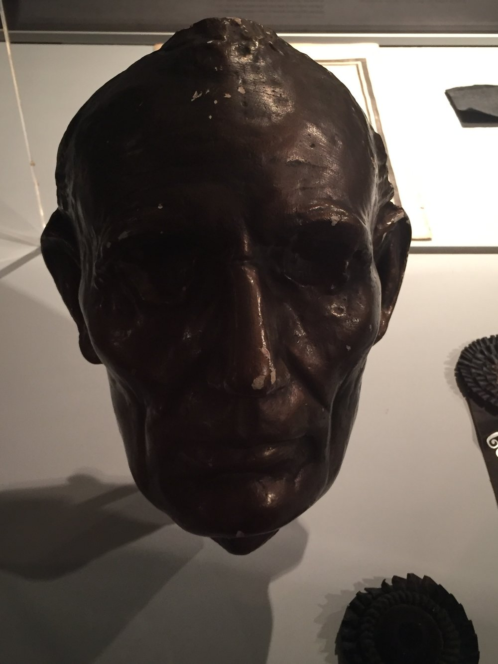 Lincoln Life Mask created in 1864-1865