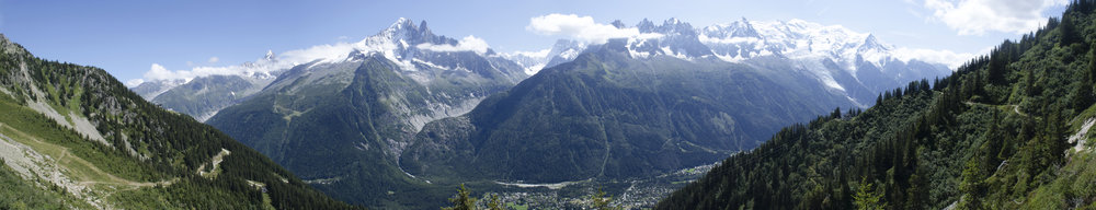 Meet Me in Chamonix - The following was inspired by a journey of love, which carried me across Europe, through the mountains of Switzerland, and eventually to Chamonix, France.