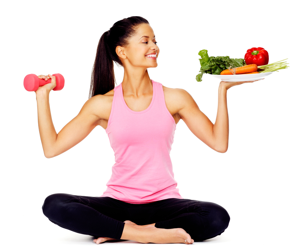 Developing a balance of healthly eating and regular exercise helps prevent acne breakouts.