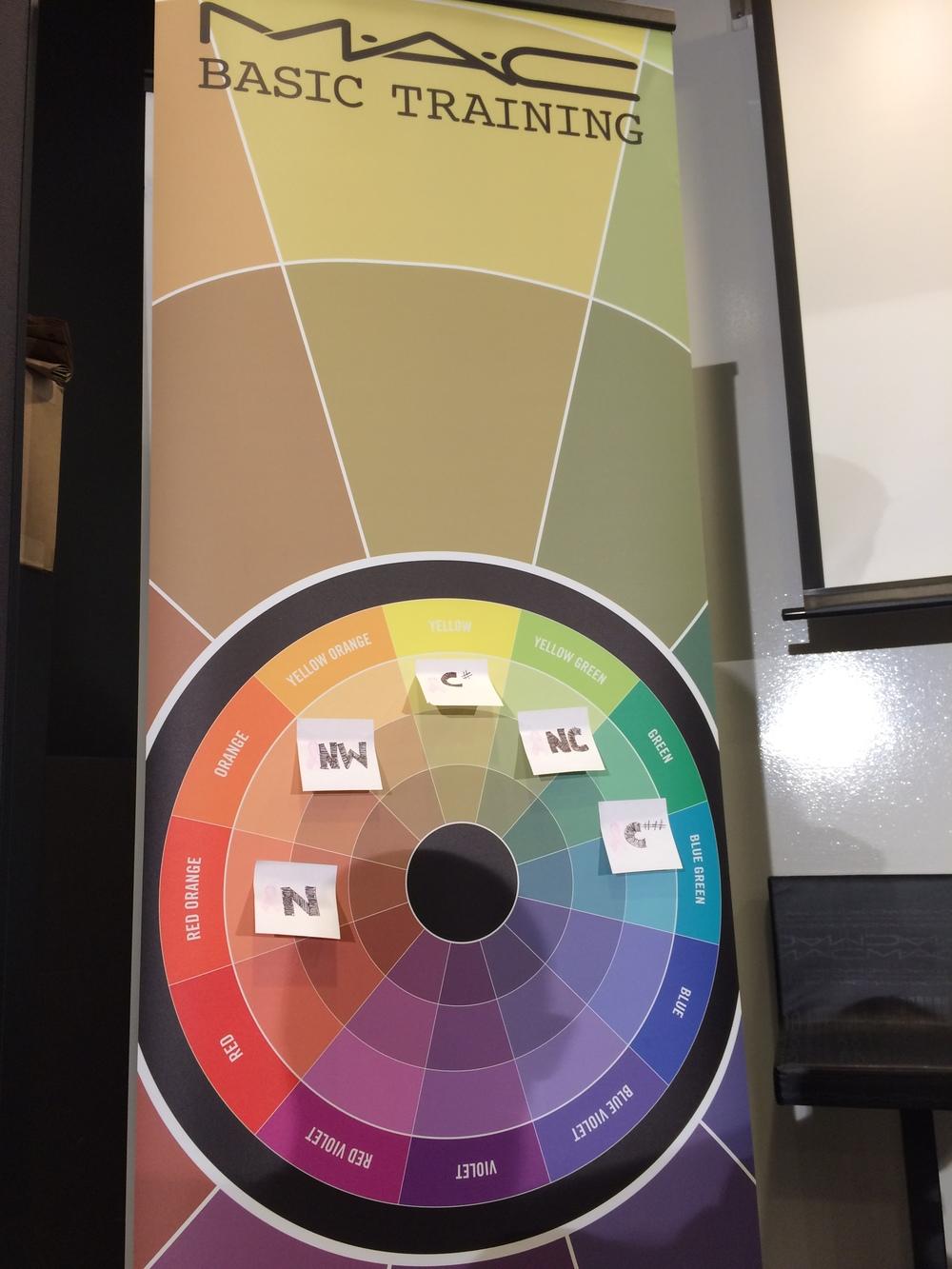 MAC Master Class Color Wheel 101
