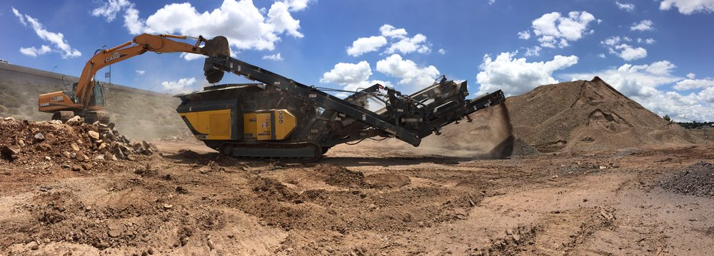 ONSITE AGGREGATE CRUSHING & RECYCLING