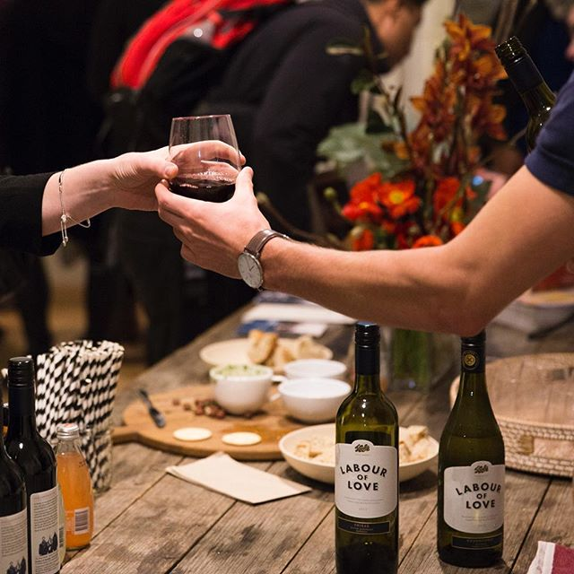 Happily sharing our Labour of Love with our friends @dumbofeather at their issue 47 launch party. Watch this space for further Dumbo Feather and Kooks related activities to come! Photo courtesy @ginandjones for @dumbofeather #kookswines #labouroflove