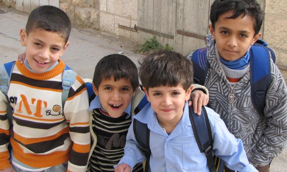 Palestinian Children, Hebron Palestine 2011 Photo Taken by Rachel Stacy