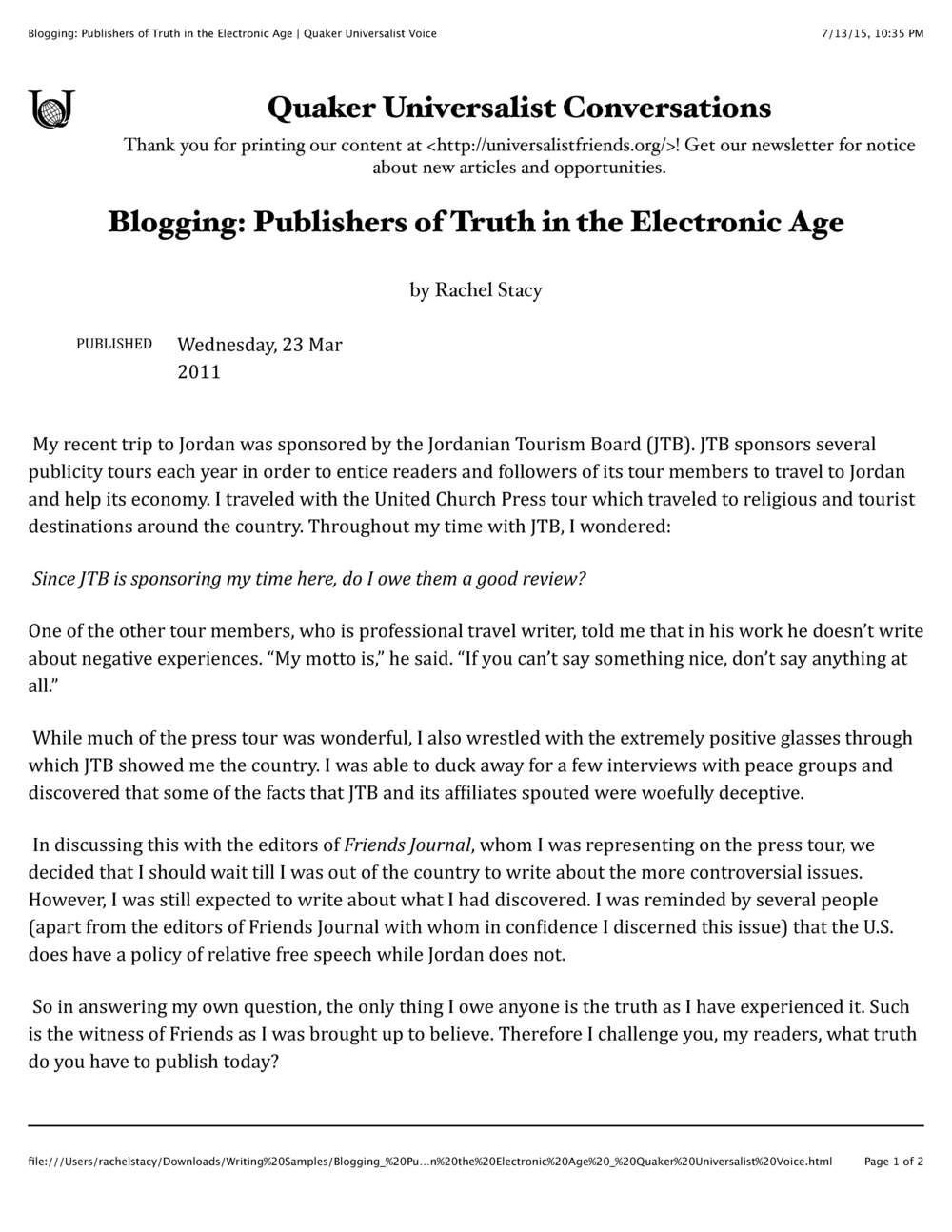 Blogging- Publishers of Truth in the Electronic Age | Quaker Universalist Voice_Page_1.jpg