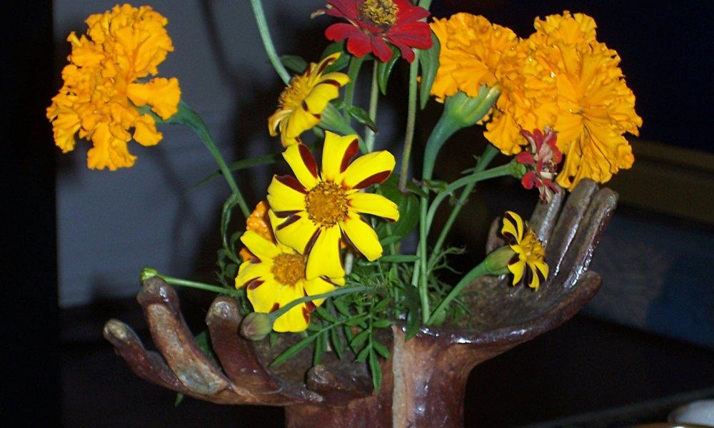 Vase made by Sadie Forsythe.