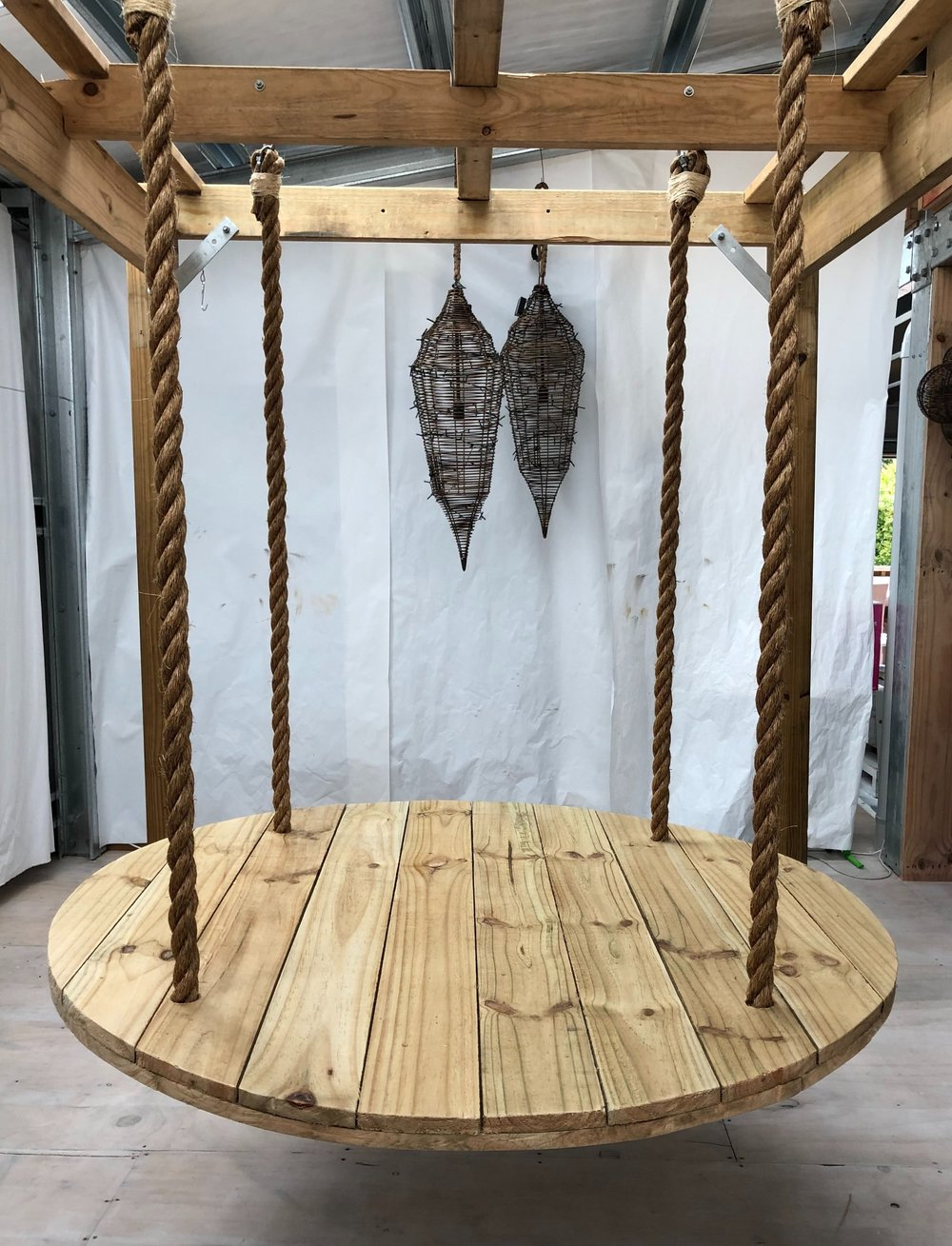Suspended grazing table with pergola    $300 hire $75 installation - Delivery extra