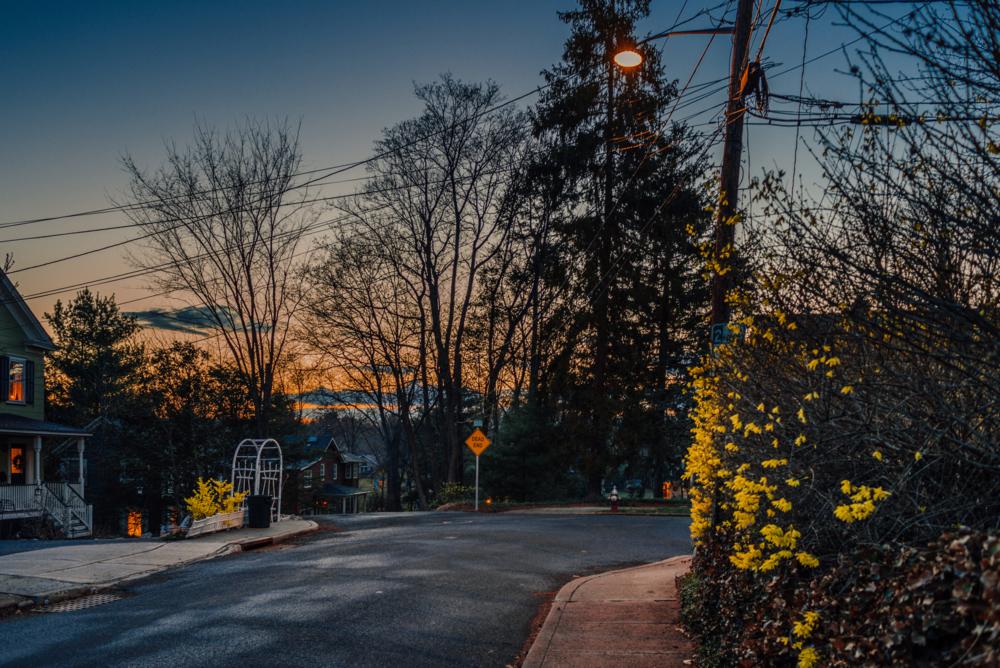 Sidestreet Near Godwin Avenue, Ridgewood NJ