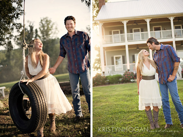 a garden party review of miranda lambert and blake shelton s wedding