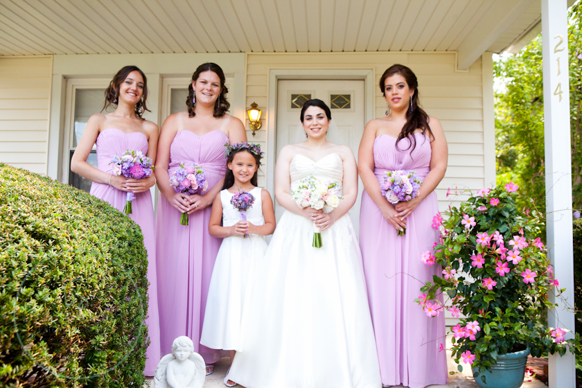 Pastel wedding, lavender wedding, galloway florist