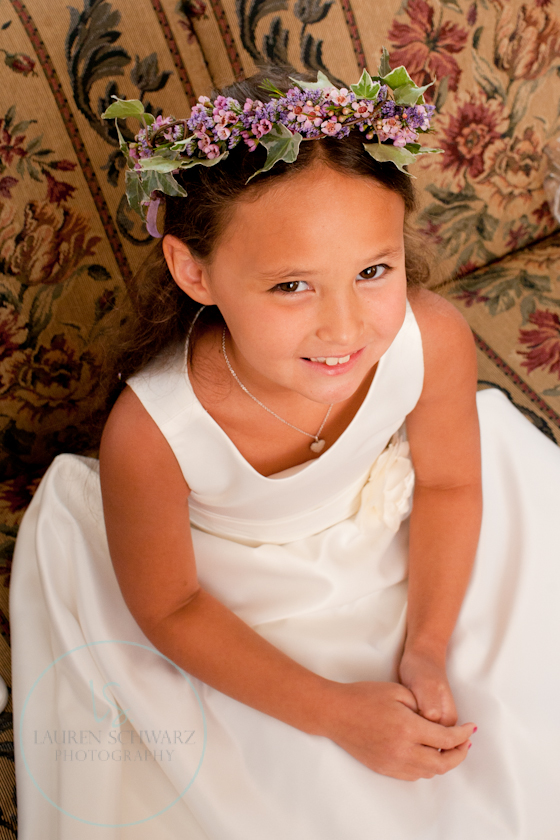 flowergril halo, tiara, wildflower wedding