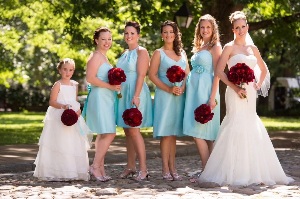Philadelphia Wedding Florist - A Garden Party at The Downtown Club
