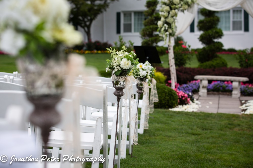 Stockton Seaview Wedding Florist - A Garden Party