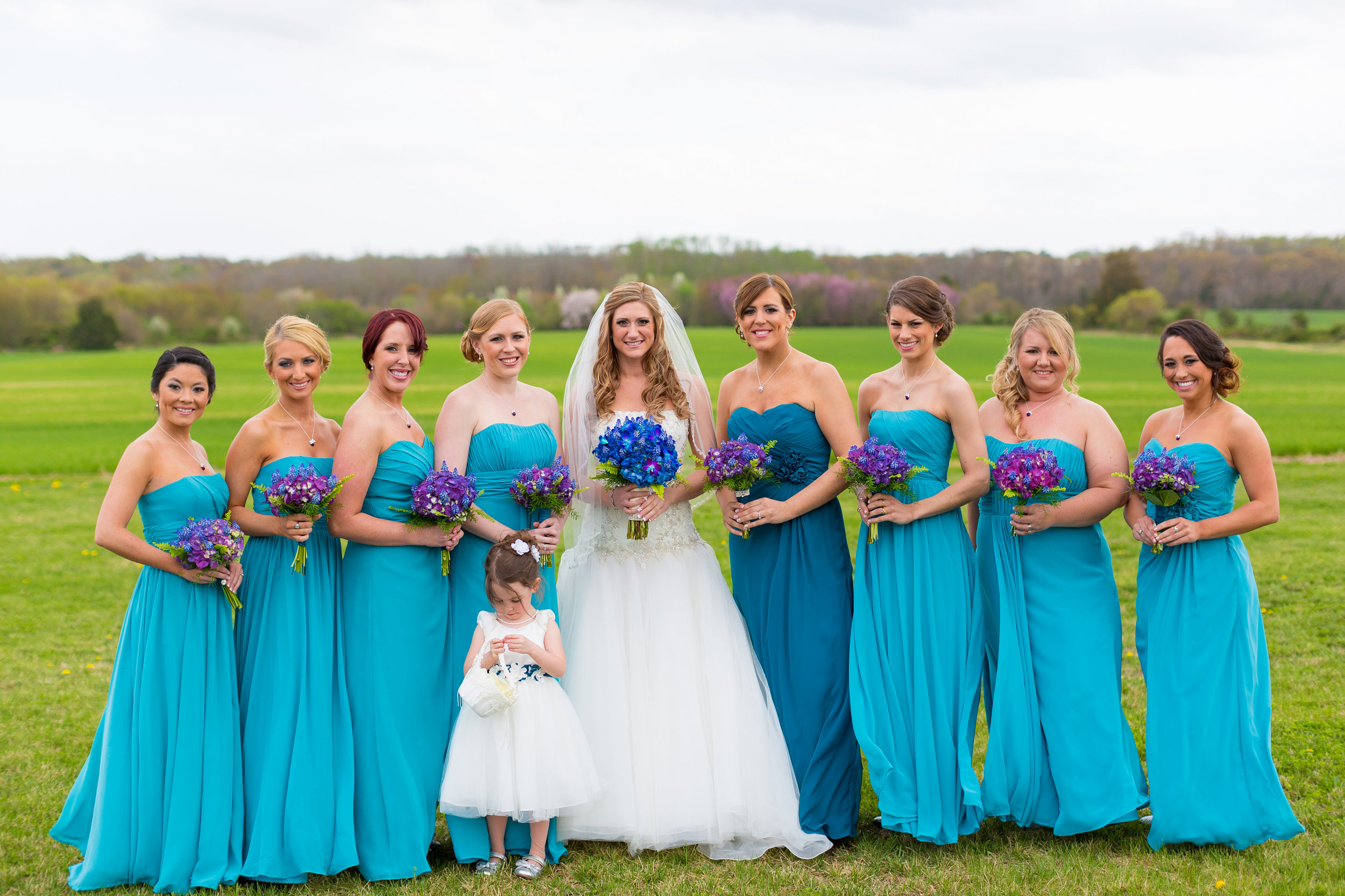 South Jersey Wedding Florist: Courtney & Andrew at Luciens Manor — A ...