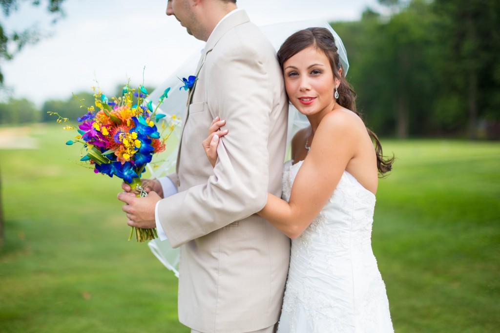 South Jersey Wedding Florist - A Garden Party - Running Deer Golf Club