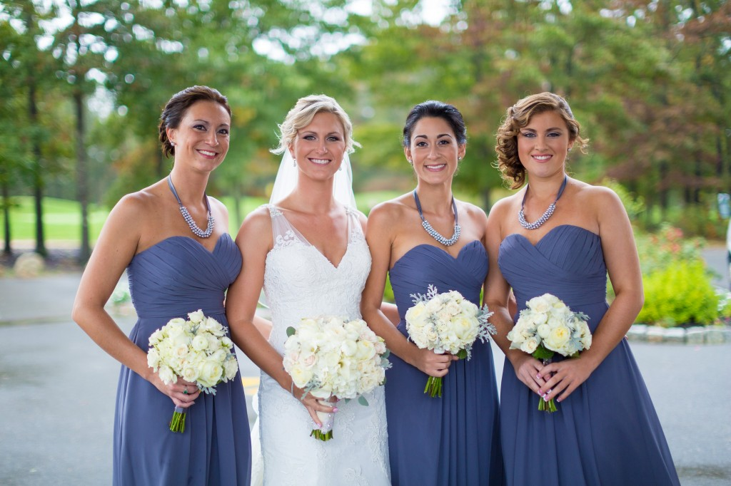 South Jersey Wedding Florist - A Garden Party - Running Deer Golf Club Weddings