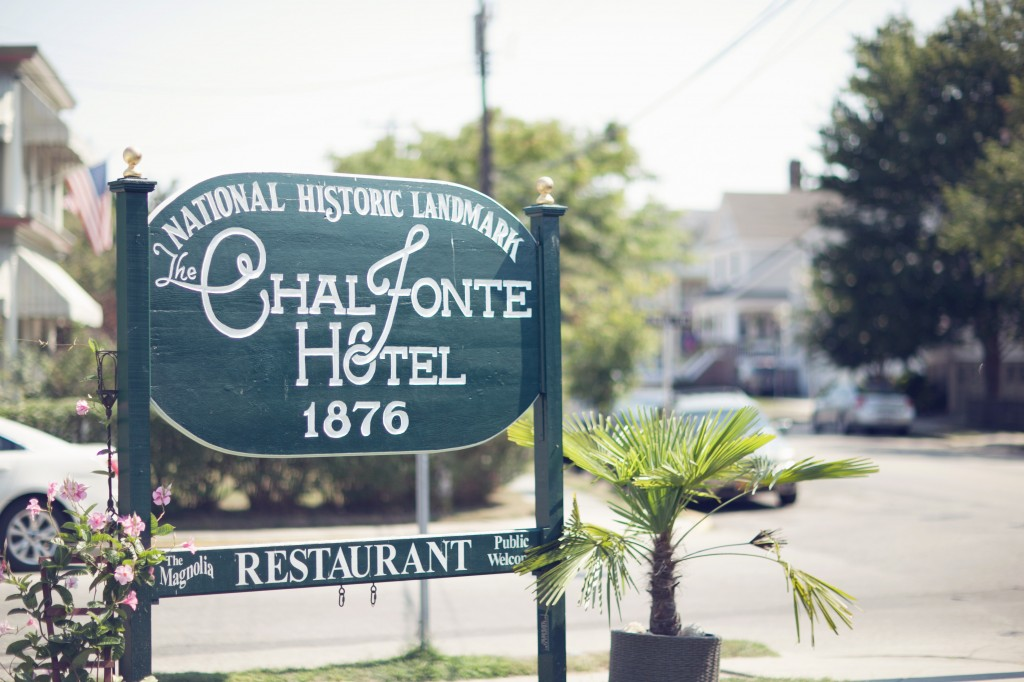 Cape May NJ Wedding Florist - A Garden Party - The Chalfonte Hotel