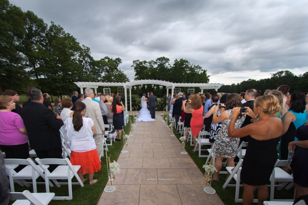 South Jersey Wedding Florist - A Garden Party Florist - Running Deer Golf Club