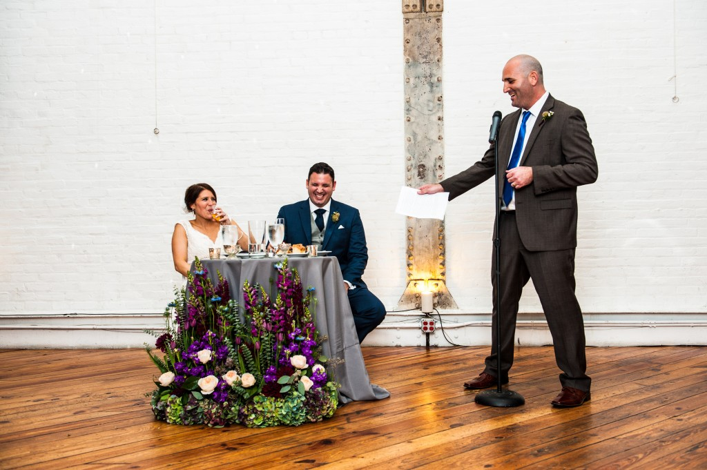 Philadelphia Wedding Florist - Philadelphia Power Plant - A Garden Party Florist