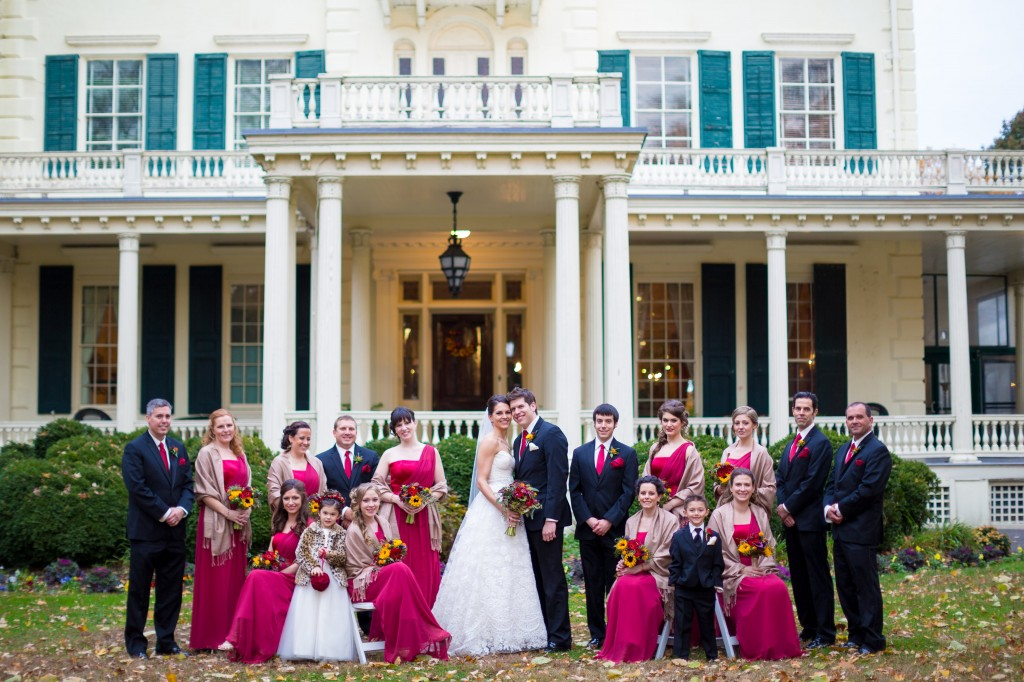 Philadelphia Wedding Florist - A Garden Party - The Glen Foerd Mansion