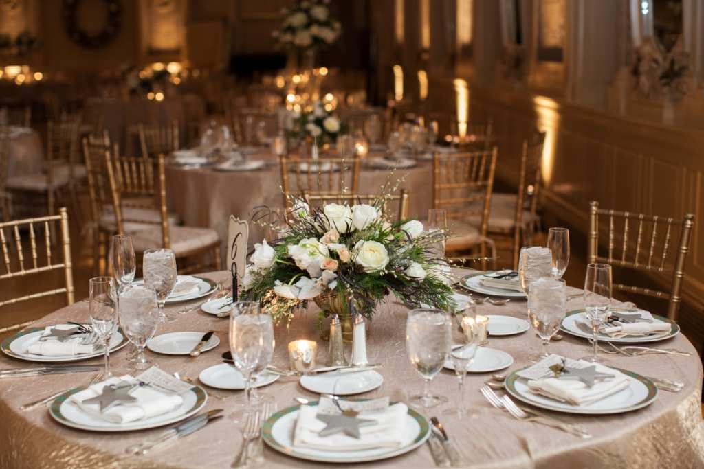 Delaware Wedding Florist - The Hotel DuPont - A Garden Party Florist