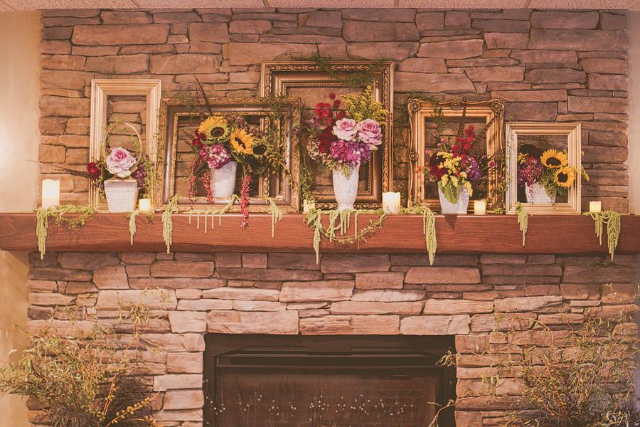 Swedesboro NJ Wedding Florist - A Garden Party - Rode's Fireside